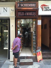 The world's most narrow store? Valletta, Malta