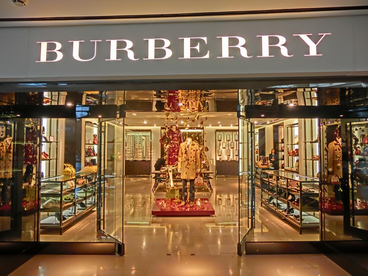 Burberry schreddert 38 Mio. Dollar.