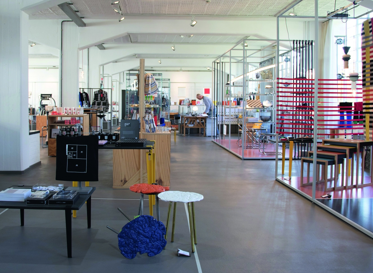 Bauhaus Design Shop in Dessau.