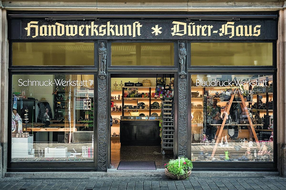 Dürerhaus in Erfurt.