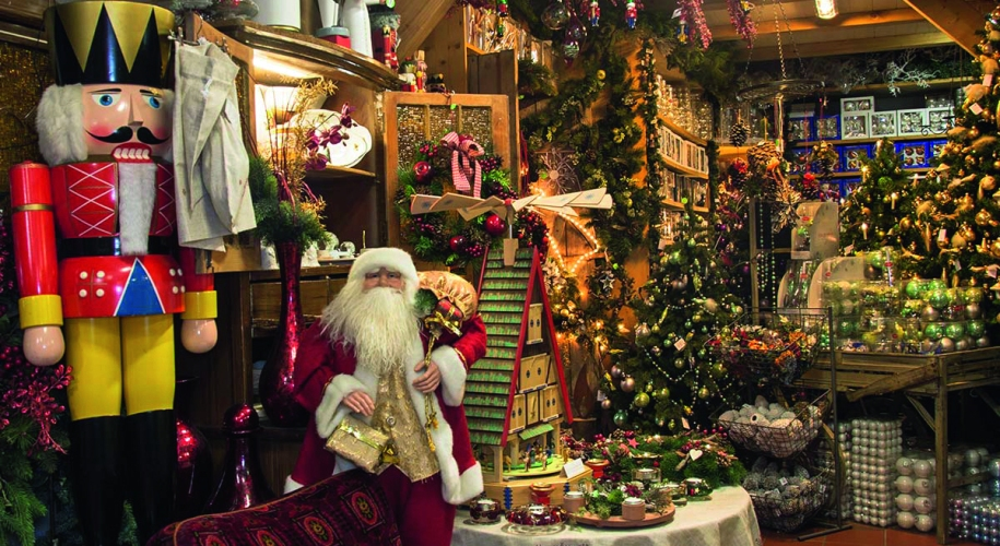 Ratags Weihnachtshaus Stolpen
